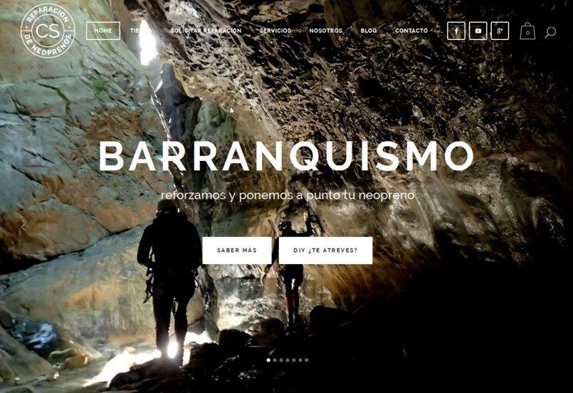 nueva web tienda online reparacion de neoprenos coco sobrarbe home