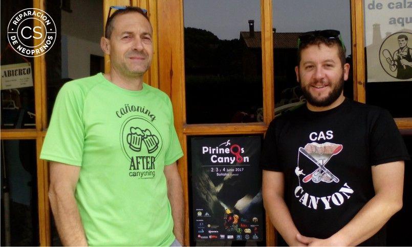 entrevista pirineos canyon marc y mauricio