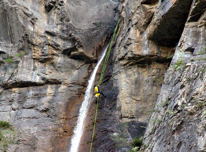 entrevista pirineos canyon salto del carpin mauricio