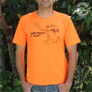 camiseta barranquismo barranquear o volar principal camiseta tecnica ropa material barranquismo canyoneering tshirt outfit equipment not boring t-shirts