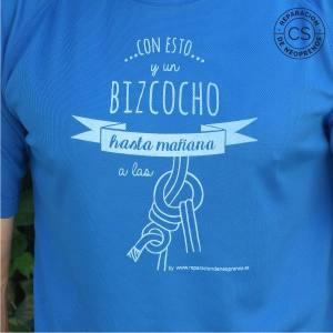 camiseta barranquismo hasta mañana a las 8 detalle camiseta tecnica ropa material barranquismo canyoneering tshirt outfit equipment not boring t-shirts