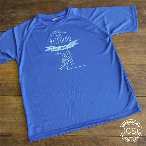 camiseta barranquismo hasta mañana a las 8 vista camiseta tecnica ropa material barranquismo canyoneering tshirt outfit equipment not boring t-shirts