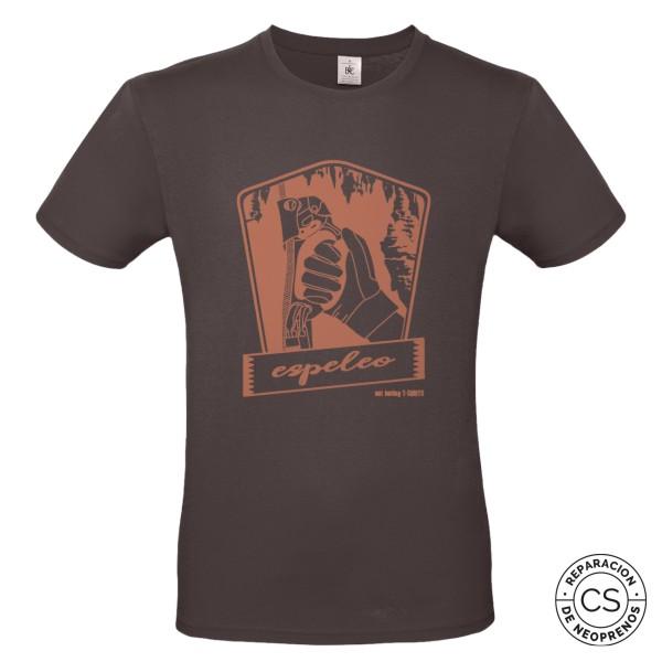 espeleo principal white camiseta tecnica ropa material barranquismo canyoneering tshirt outfit equipment not boring t shirts