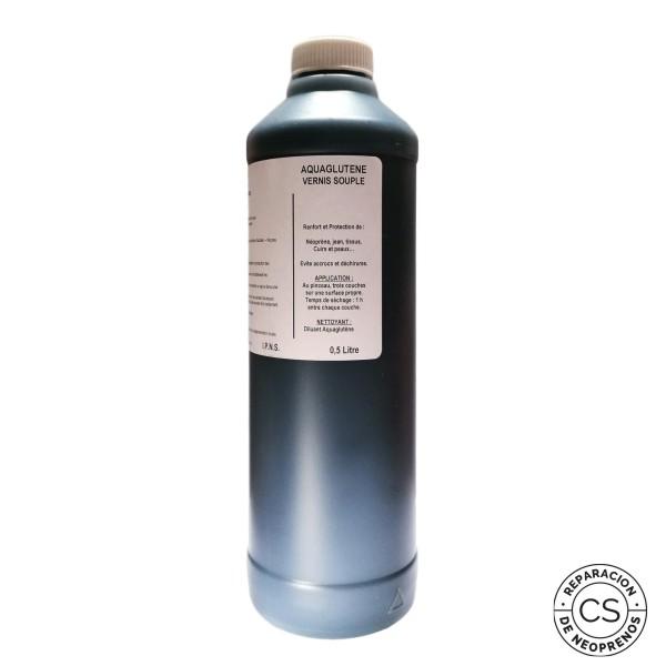 aquaglutene vade retro 500 ml barniz poliuretano polyglut reparar codera rodillera culera proteccion costuras coser neopreno