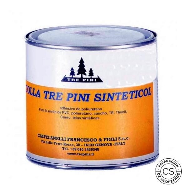 colla tre pini sinteticol adhesivo poliuretano pegamento PVC cola traje seco reparar neopreno