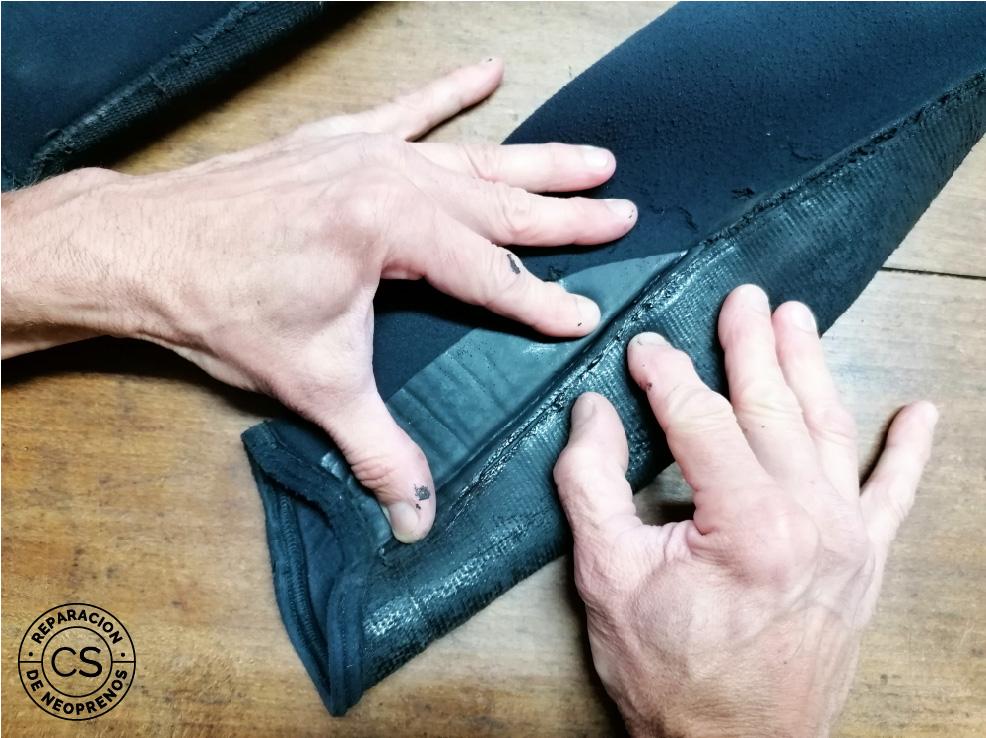 como sellar las costuras de tu neopreno pegar 2